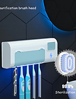 cheap -UV Toothbrush Disinfectant Bathroom Smart UVC Toothbrush Holder Wall Mounted with Sterilizer Function USB Rechargeable