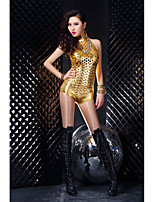 cheap -Women's Layered Hole Sexy Lingerie Nightwear Solid Colored Bra Black / Gold / Silver XS S M