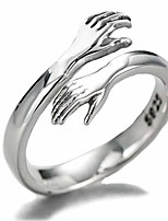 cheap -helen de lete original come to my arm 925 sterling silver adjustable hug ring