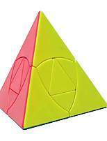 cheap -QiYi Cube Pyramid 3X3 Puzzle Pyraminx Magic Cube Twist Toy Black
