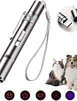 cheap -Laser Toy Cat Kitten 1pc Rechargeable Lighting USB Charger Alloy Gift Pet Toy Pet Play