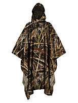 cheap -Men's Hunting Jacket Outdoor Windproof Totally Waterproof (20,000mm+) Wearproof Fall Spring Summer Camo Polyester Jungle camouflage Camouflage Camouflage Gray