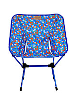 cheap -Camping Chair Portable Ultra Light (UL) Multifunctional Foldable Aluminum Alloy for 1 person Fishing Beach Camping Traveling Autumn / Fall Winter White Red Blue Orange / Breathable / Comfortable