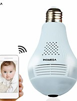 cheap -1.3 million bulb camera xiongmai original 960p panoramic bulb panoramic wifi smart bulb camera