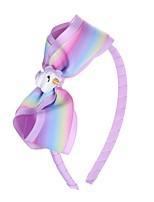 cheap -new european and american children's unicorn headband boutique headdress baby handmade bow headband hairband princess head buckle