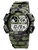 cheap -SKMEI Men's Military Watch Digital Digital Sporty Camouflage Calendar / date / day Chronograph Alarm Clock / One Year / Silicone