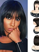 cheap -Synthetic Hair Wigs Short Bob Wigs With Bangs Cosplay Short Bob Wigs For Women