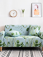 cheap -Sofa Cover Simple Style Sectional Stretch  Slipcovers Elastic Stretch Sofa Cover For Living Room Couch Cover Armchair Cover Green Plant