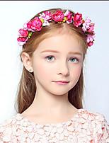 cheap -little flower girl headdress korean children's dance performance garland bracelet girls princess hair accessories wedding dress decoration
