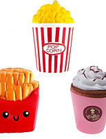 cheap -Jumbo Slow Rising Squishy Toys Popcorn Fries Straw Cup Fast Food Stress Reliever Toys for children In Gags Toys 1PCS