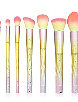 cheap -easy to use professional quality cosmetic 7 pcs spiral raindrops unicorn diamond makeup brush set blush eyeshadow brush loose powder makeup tools for facial contours, slow release, not easy to agglome