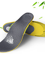 cheap -Mesh Shoe Inserts Running Insoles Women's Men's Tailorable Sports Insoles Foot Supports Shock Absorption Arch Support Breathable for Fitness Gym Workout Running Fall Winter Spring Grey