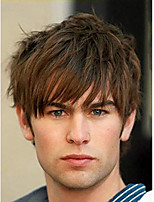 cheap -Men's Short Wigs Brown Layered Natural Synthetic Clothing Cosplay Wigs For Men