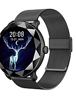 cheap -H8 Smartwatch for Android iOS Bluetooth 1.09 inch Screen Size IP 67 Waterproof Level Waterproof Touch Screen Heart Rate Monitor Blood Pressure Measurement Sports Timer Stopwatch Pedometer Call