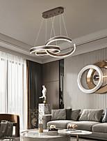 cheap -LED Pendant Light Modern Circle Design New Restaurant Chandelier Modern Personality DIY Shape Round Dining Table Study Lamp