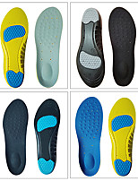 cheap -Shoe Inserts Running Insoles Women's Men's Sports Insoles Foot Supports Shock Absorption Arch Support Stink Prevention for Fitness Gym Workout Running Fall Winter Spring Blue+Yellow Black Yellow