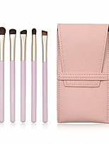 cheap -makeup brush make up eye brush set 5 pcs eyeshadow brush set eyeliner blending brush makeup brushes for daily use brush sets (color : pink, size : 10x17x2cm)
