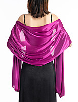 cheap -Sleeveless Elegant / Bridal POLY Wedding / Party / Evening Women's Wrap With Solid