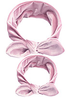cheap -new european and american cotton elastic parent-child bunny ears headband gold velvet mother and baby holiday hair ring headdress hair accessories