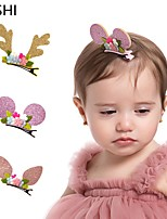 cheap -cross-border european and american antlers, mickey ears, hairpins for children