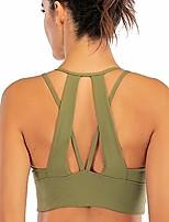 cheap -Lureme Seamless Comfortable Gym Yoga Strappy Back Sports Bras For Women