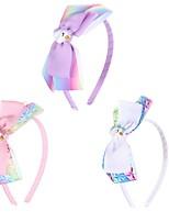 cheap -Kids / Toddler Girls' Unicorn Ribbed 4 Inch Bow Kids Headband Headband Holiday Party Headdress