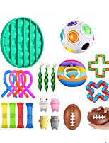 cheap -22 pcs Fidget Toys Anti Stress Toy Set Strings Marble Relief Gift for Adults Girl Children Sensory Stress Relief Antistress Toys