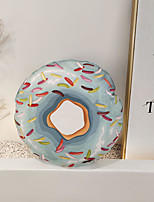 cheap -Pillow Fashion Lovely Trend Donuts Pillow Include Pillow Core Living Room Bedroom Sofa Cushion Modern Sample Room Cushion
