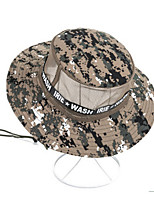 cheap -Men's Hats Fishing Hat Portable Ultraviolet Resistant Breathability Comfortable Camo Spring & Summer Terylene Hunting Fishing Camping / Hiking / Caving Everyday Use Camouflage Color Camouflage Blue