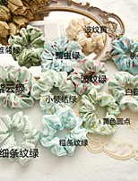 cheap -korean version of the new bow tie, striped dots, large intestine circle, girl's plate hair ball, hair rope, three-state hair, enclosure, stall, supply