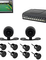 cheap -PZ600-8 Reversing Radar Kit Plug and play for Car