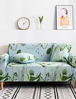 cheap -1 Pc Green Plant Sofa Cover Elastic Sofa Cover To Living Room Pet Sofa Dust Cover Recliner Sofa Cover