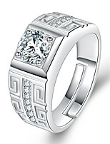 cheap -moissanite male ring domineering men's opening adjustable ring wedding ring