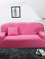 cheap -Sofa Cover Solid Colored Pigment Print Elastic Woven Satin Slipcovers