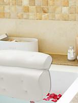 cheap -3D Mesh Bathtub Pillow Four Enlarged Suction Cups with Super Suction Power 1PCS 100*40CM Bathtub Mat PVC Material Bathroom Shower Suction Cup Non-slip 1PCS