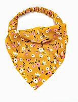 cheap -2341 new flower garden wind headband headband cross-border women's elastic band elastic triangle scarf wild headband three states