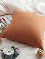 cheap -PillowCase Simplicity Modern Solid Color Stripe PillowCase Four Corners Hanging Ball Style Living Room Bedroom Sofa Cushion Cover