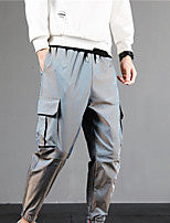 cheap -Men's Work Pants Hiking Cargo Pants Hiking Pants Trousers Summer Outdoor Ripstop Quick Dry Multi Pockets Breathable Bottoms Green Royal Blue Silver Brown Work Hunting Fishing M L XL XXL XXXL