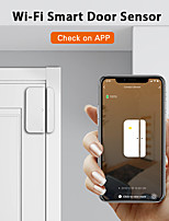cheap -ALARMEST Tuya Smart WiFi Door Window Sensor Magnetic Detector Door Open / Closed Detectors APP Control Work With Alexa