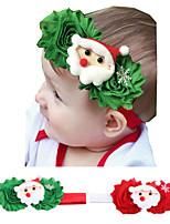 cheap -christmas new style children's old flower cartoon pattern headband european and american baby christmas decoration headband hair accessories headband