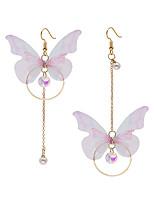 cheap -Women's Drop Earrings Earrings Dangle Earrings Elegant Fashion Sweet Earrings Jewelry Gold For Anniversary Gift Prom Date Birthday 1 Pair / Mismatch Earrings
