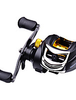 cheap -Fishing Reel Baitcasting Reel 7.2:1 Gear Ratio 3+1 Ball Bearings High Speed for Sea Fishing / Fly Fishing / Lure Fishing
