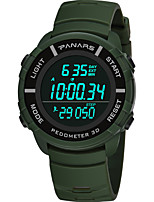cheap -sports watch men's digital watch pedometer waterproof student multi-function running watch large screen