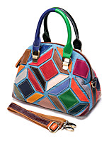 cheap -leather bag 2020 new portable female bag head layer cowhide color casual retro one-shoulder messenger bucket bag