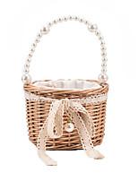 cheap -Women's Bags Top Handle Bag Straw Bag Date Beach 2021 Straw Bag Handbags Khaki