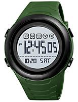 cheap -SKMEI Men's Sport Watch Digital Digital Sporty Outdoor Calendar / date / day Chronograph Alarm Clock / One Year / Silicone
