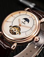 cheap -tourbillon hollow automatic mechanical watch men's watch steel belt waterproof