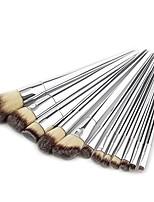 cheap -hot sale 12pcs soft nylon hair cone brushes powder concealer cosmetic makeup brush set