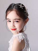 cheap -children's hair accessories, starfish crown headdress, princess headband hairpin, girl star hairpin, child birthday catwalk show