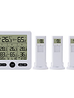 cheap -TS-6210 Mini / Portable Hygrometers Measuring temperature and humidity, Clock Alarm style, LCD backlight display